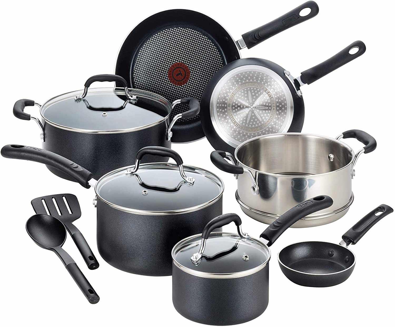T-fal C515SC Professional Nonstick Pots and Pans