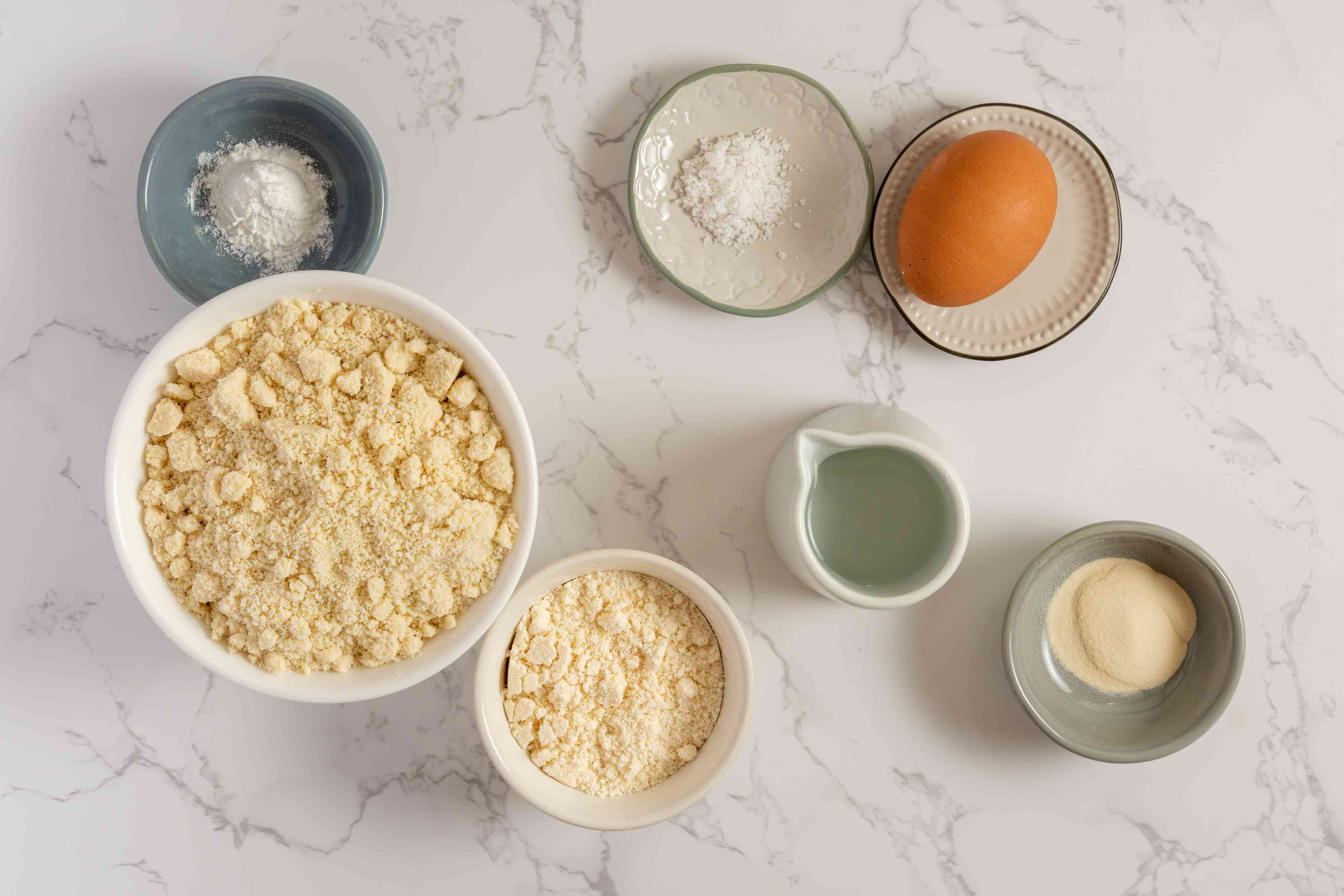 Keto Almond Flour Tortillas ingredients