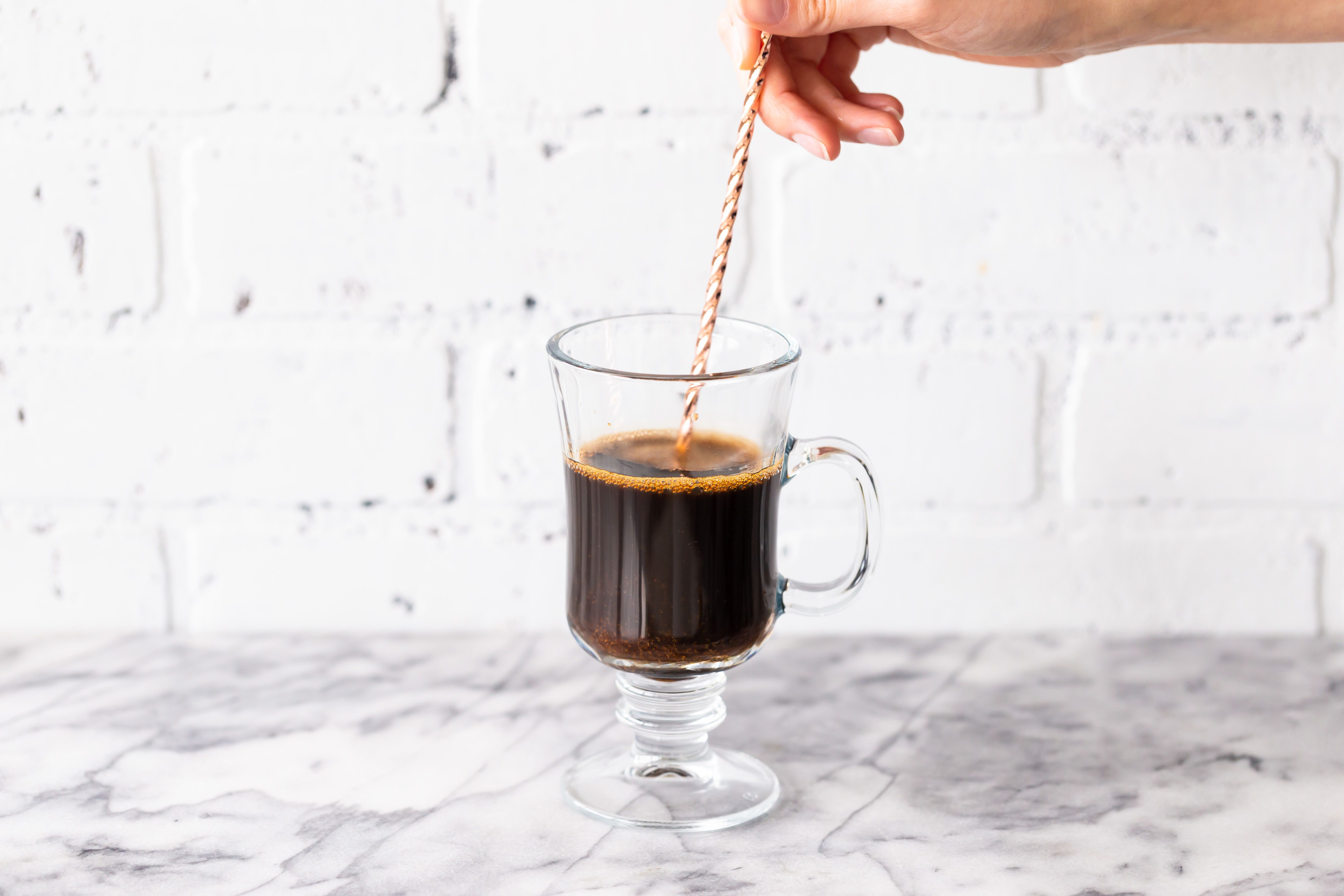 Stir until the brown sugar is dissolved