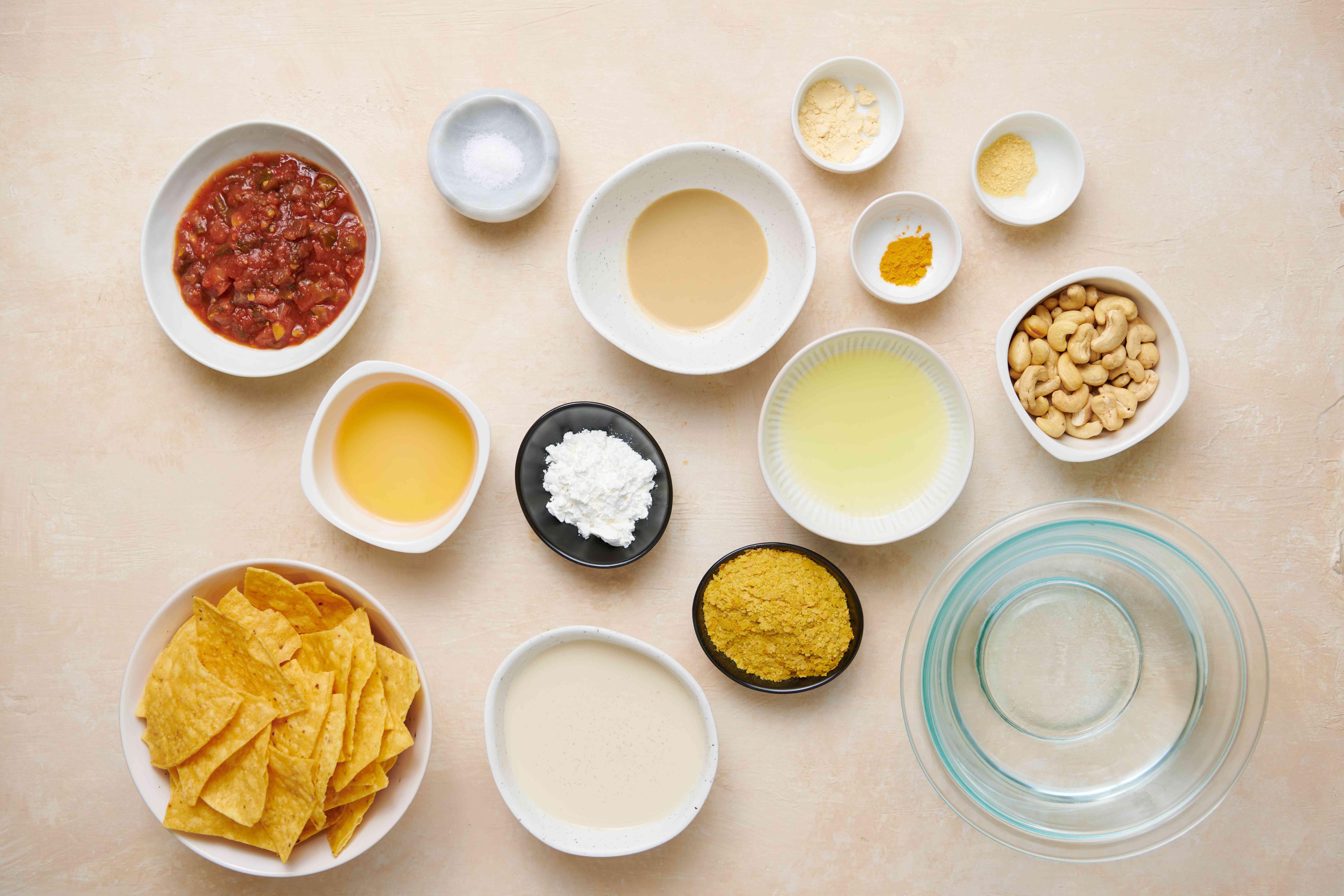 Dairy-Free Queso Dip ingredients