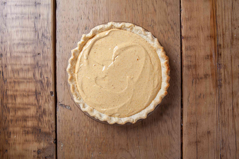 Chill the pumpkin chiffon pie