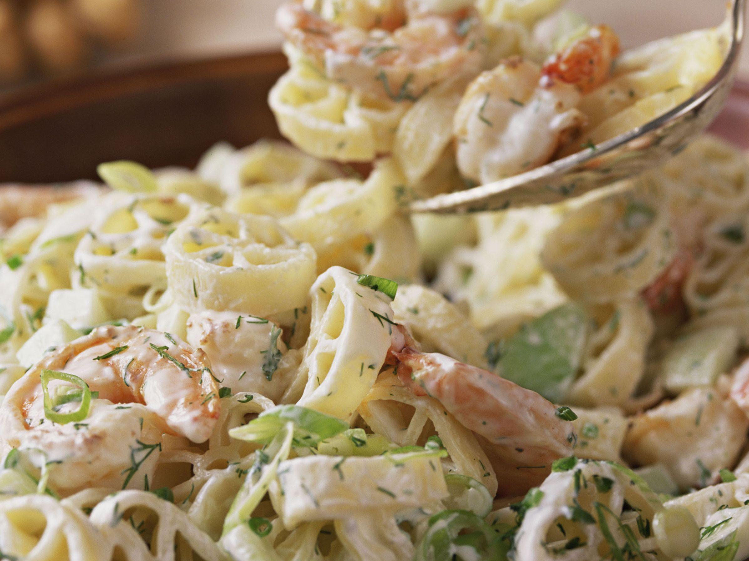Shrimp And Macaroni Pasta Salad Recipe