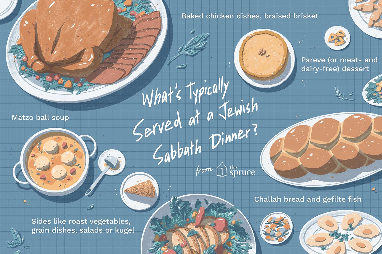 Jewish Sabbath Dinner