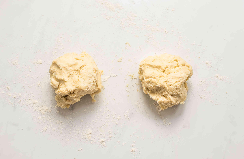 Remove dough