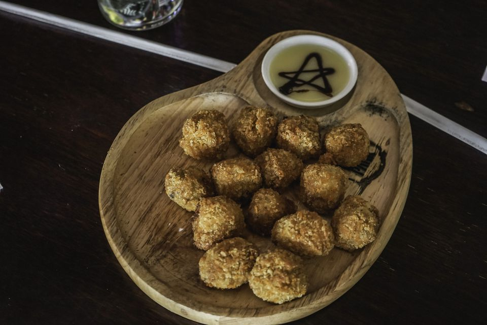Fried codfish balls