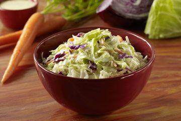 Tangy fresh coleslaw