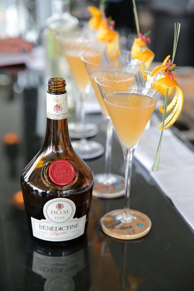Benedictine D.O.M. Liqueur With Cocktails