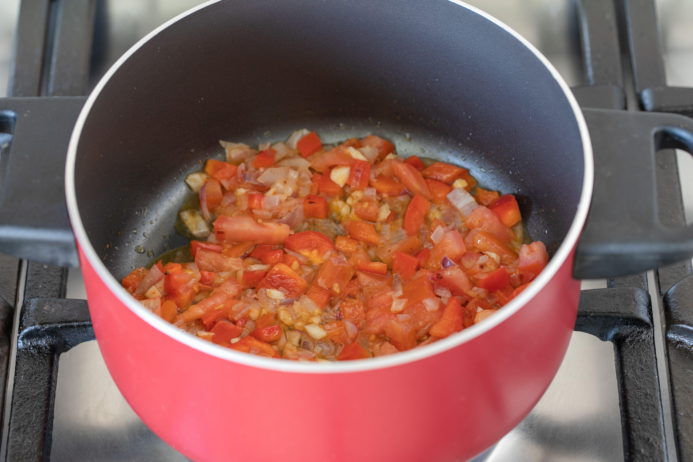Next add red pepper