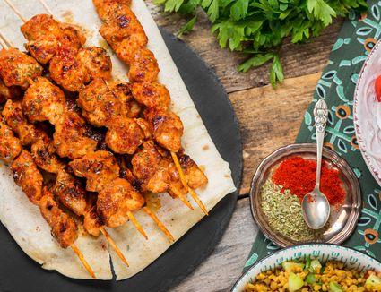 Basic turkish chicken kabobs