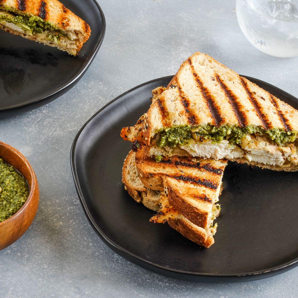 Grilled Chicken Panini Sandwich