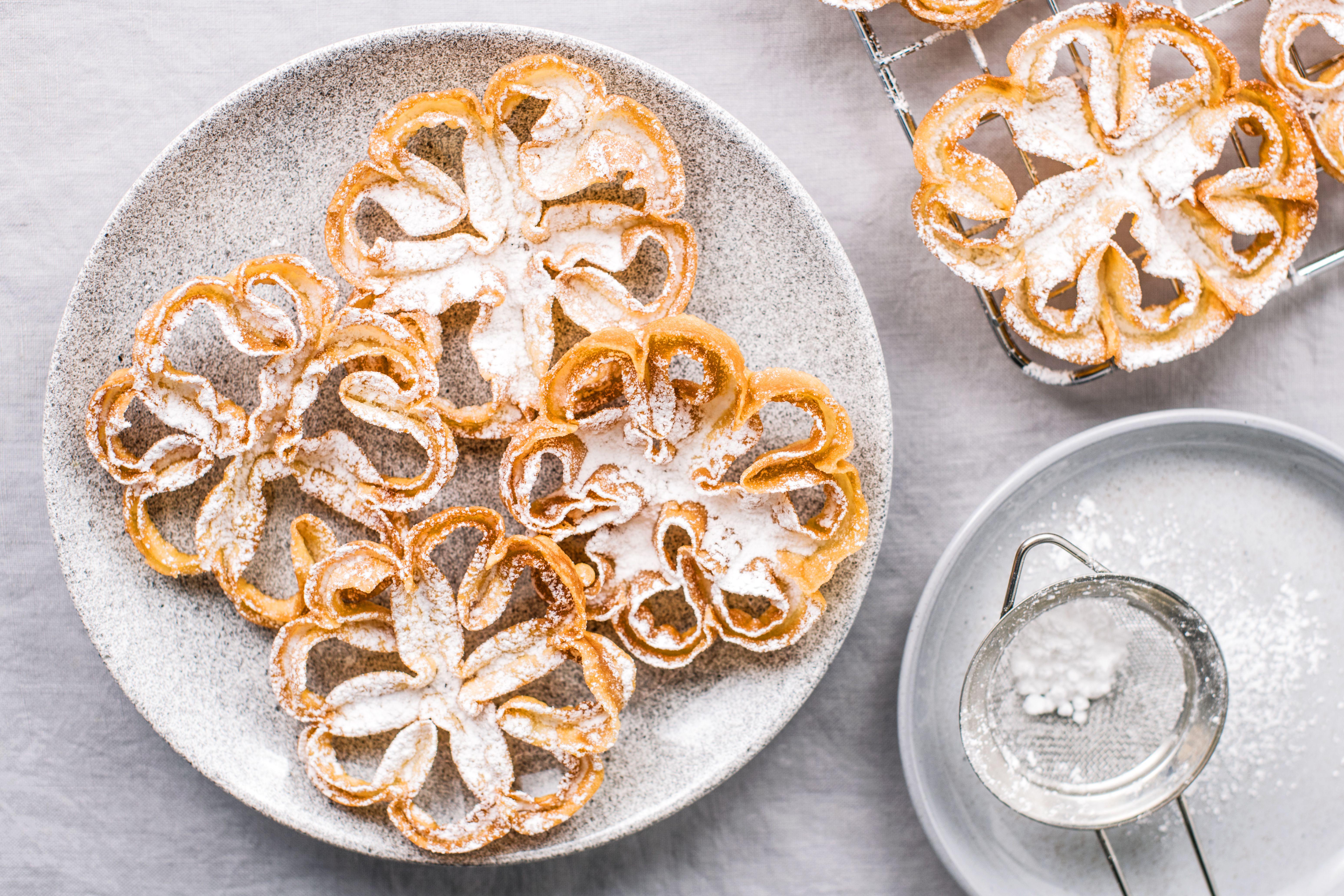 Rosette Cookie Recipe