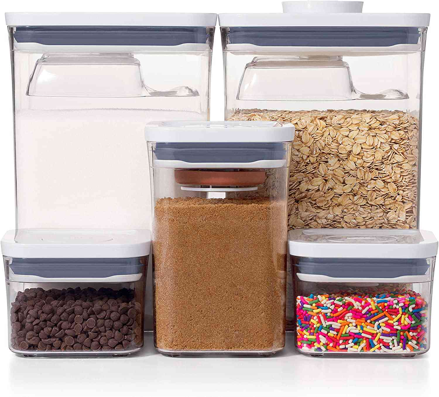 OXO Good Grips 8-Piece POP Container Baking Set