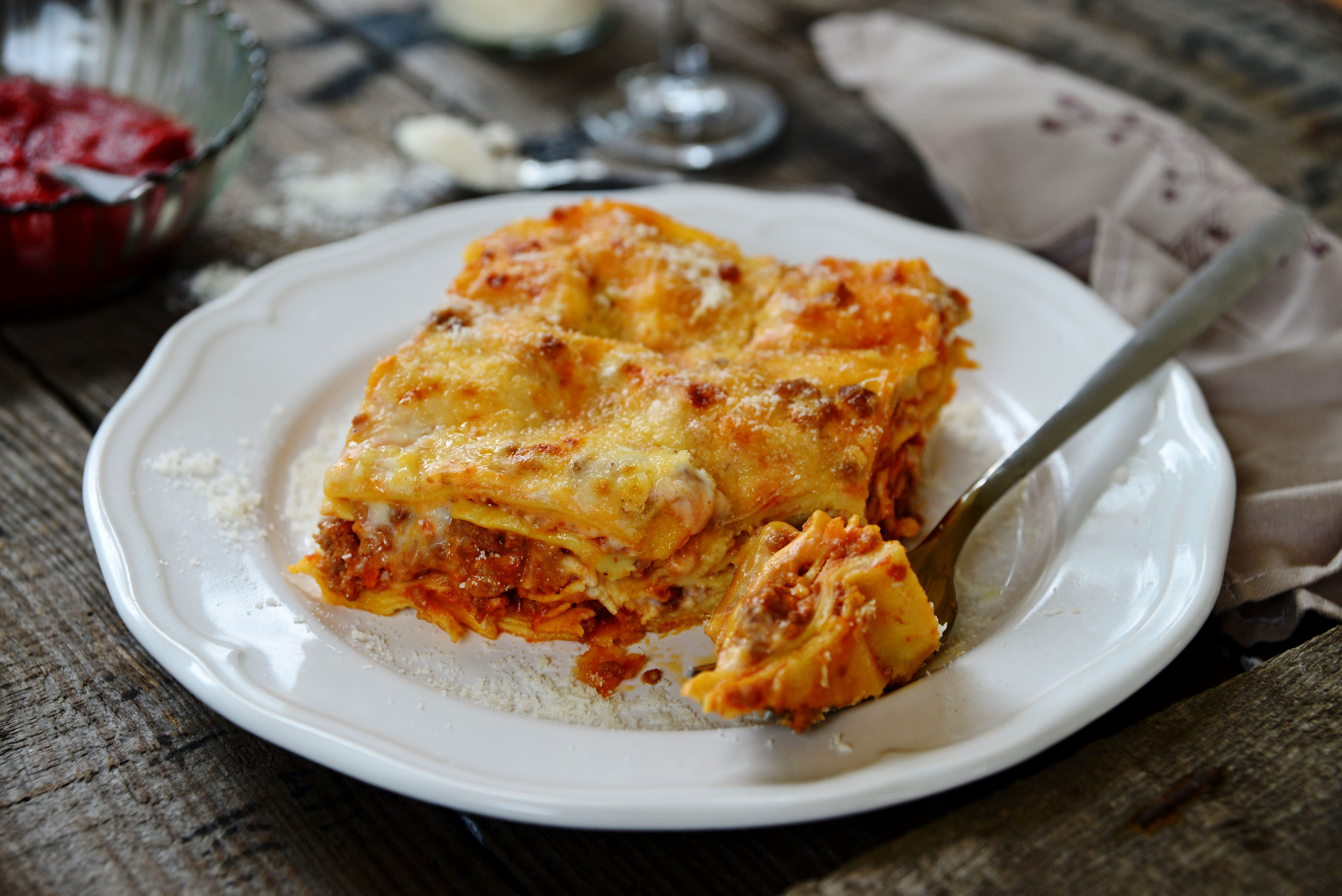 Easy Layered Crock Pot Lasagna
