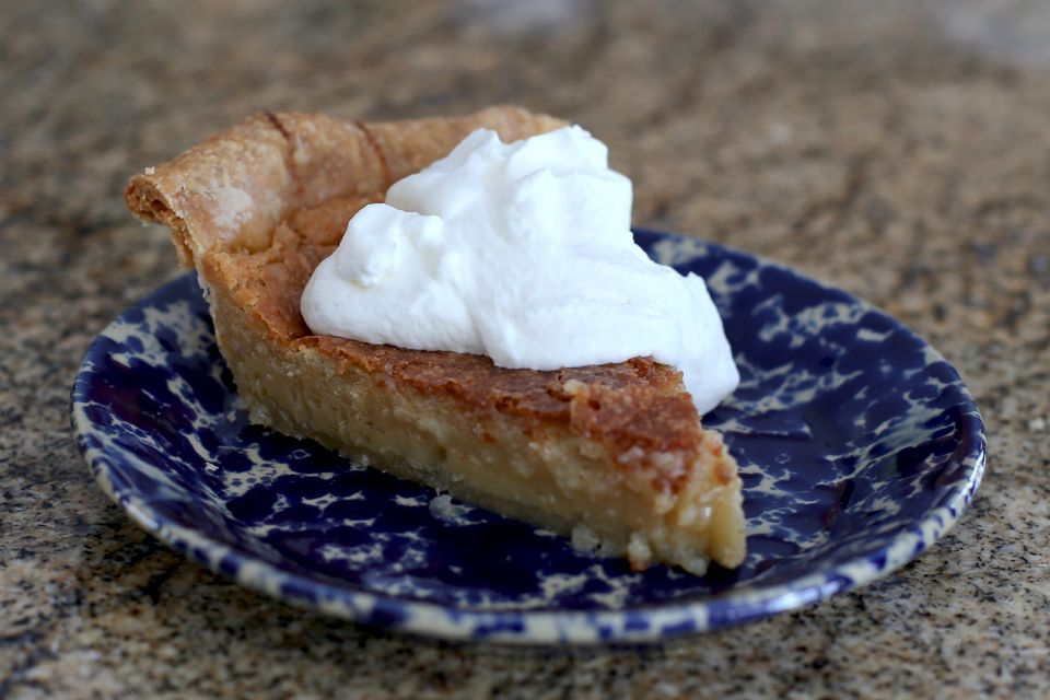 Transparent Pie With Part Brown Sugar
