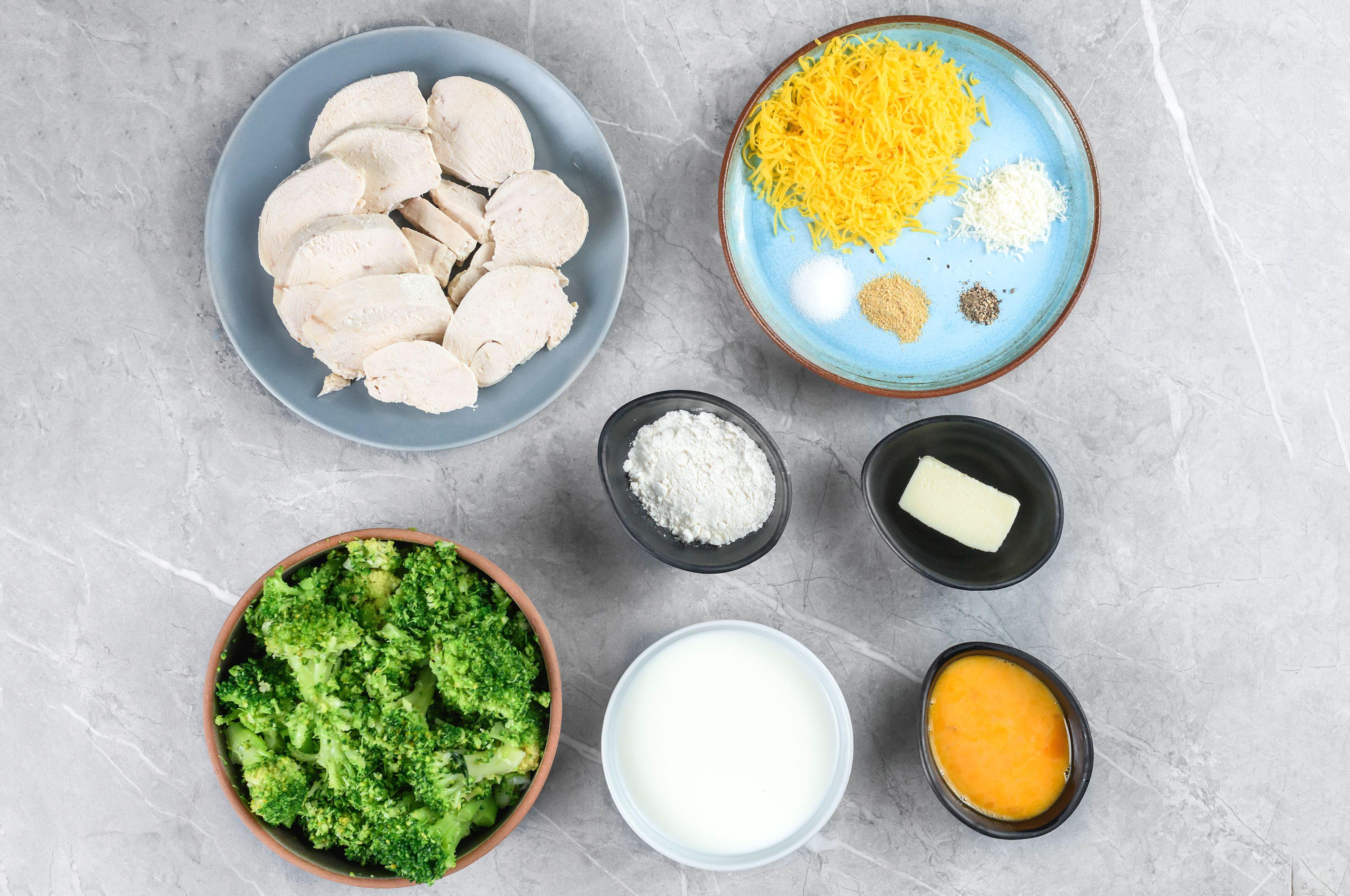 Ingredients for turkey divan