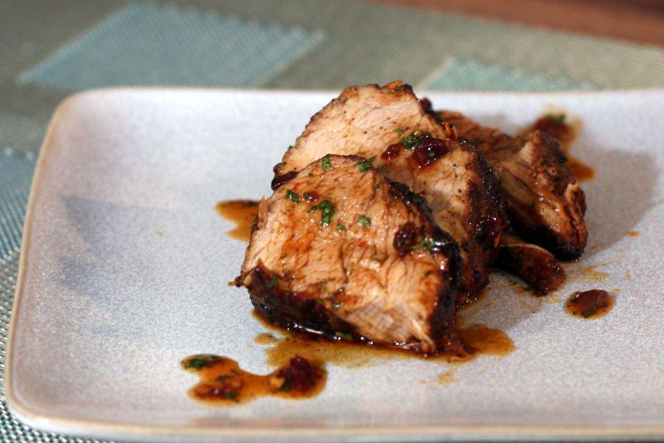 Honey Chipotle Pork Tenderloin