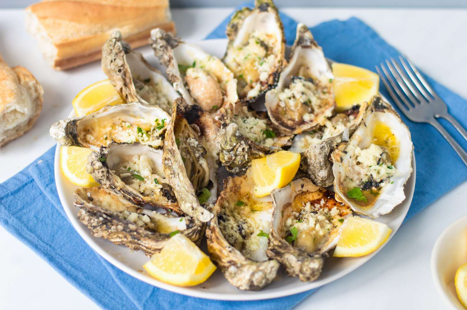 Official Dragos Charbroiled Oysters Recipe