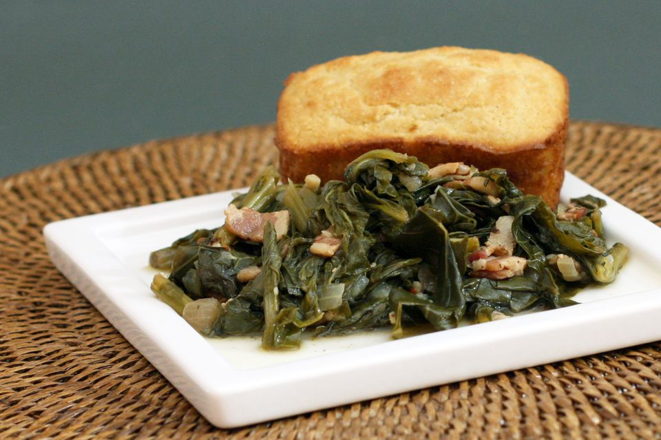 Turnip Greens With Bacon