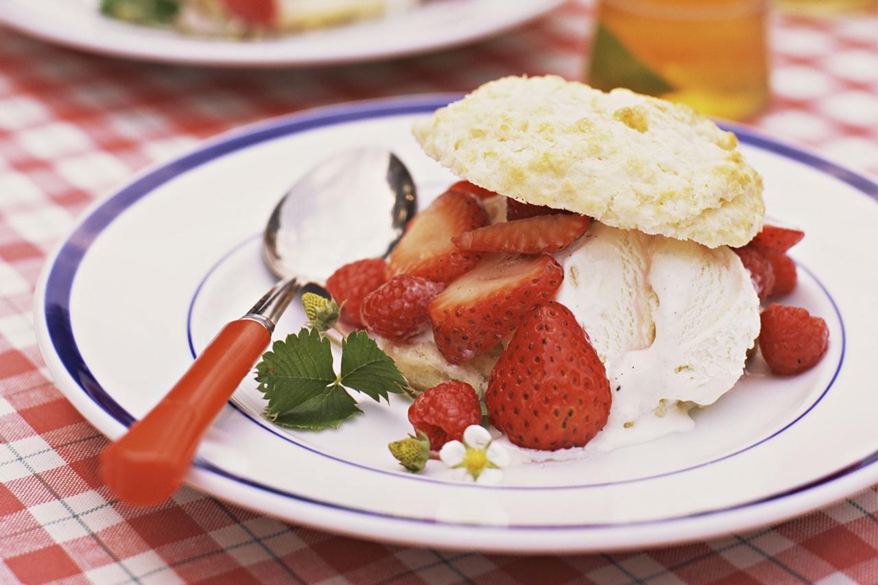Vegan Strawberry Shortcake