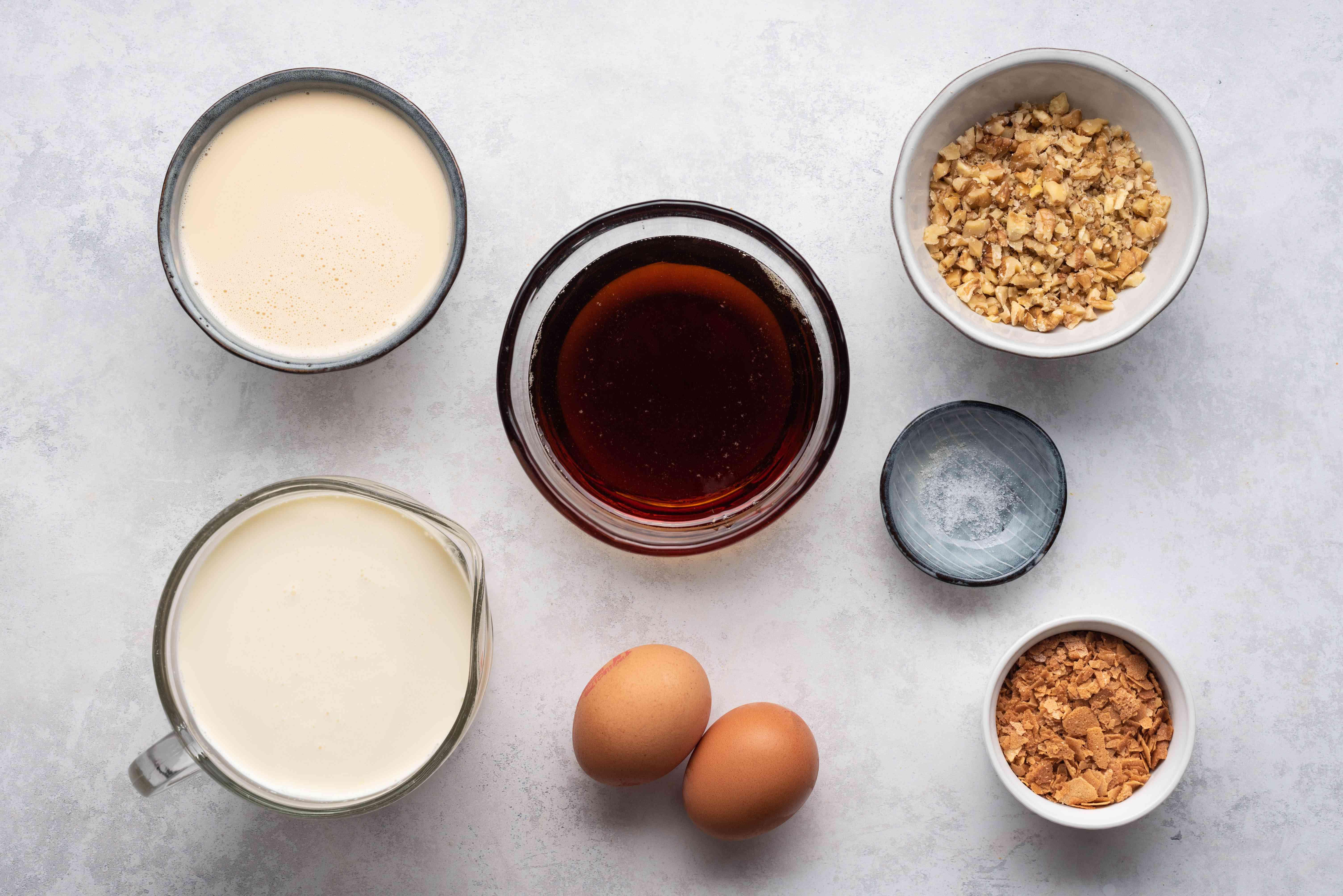 Best-Ever Maple Walnut Ice Cream ingredients