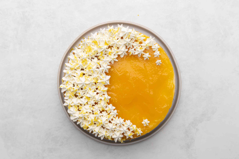 Lemon Curd Cheesecake
