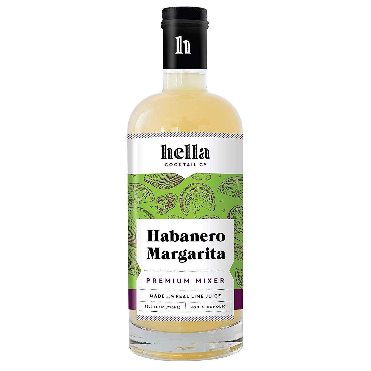 Hella Cocktail Co. Habanero Margarita Mixer