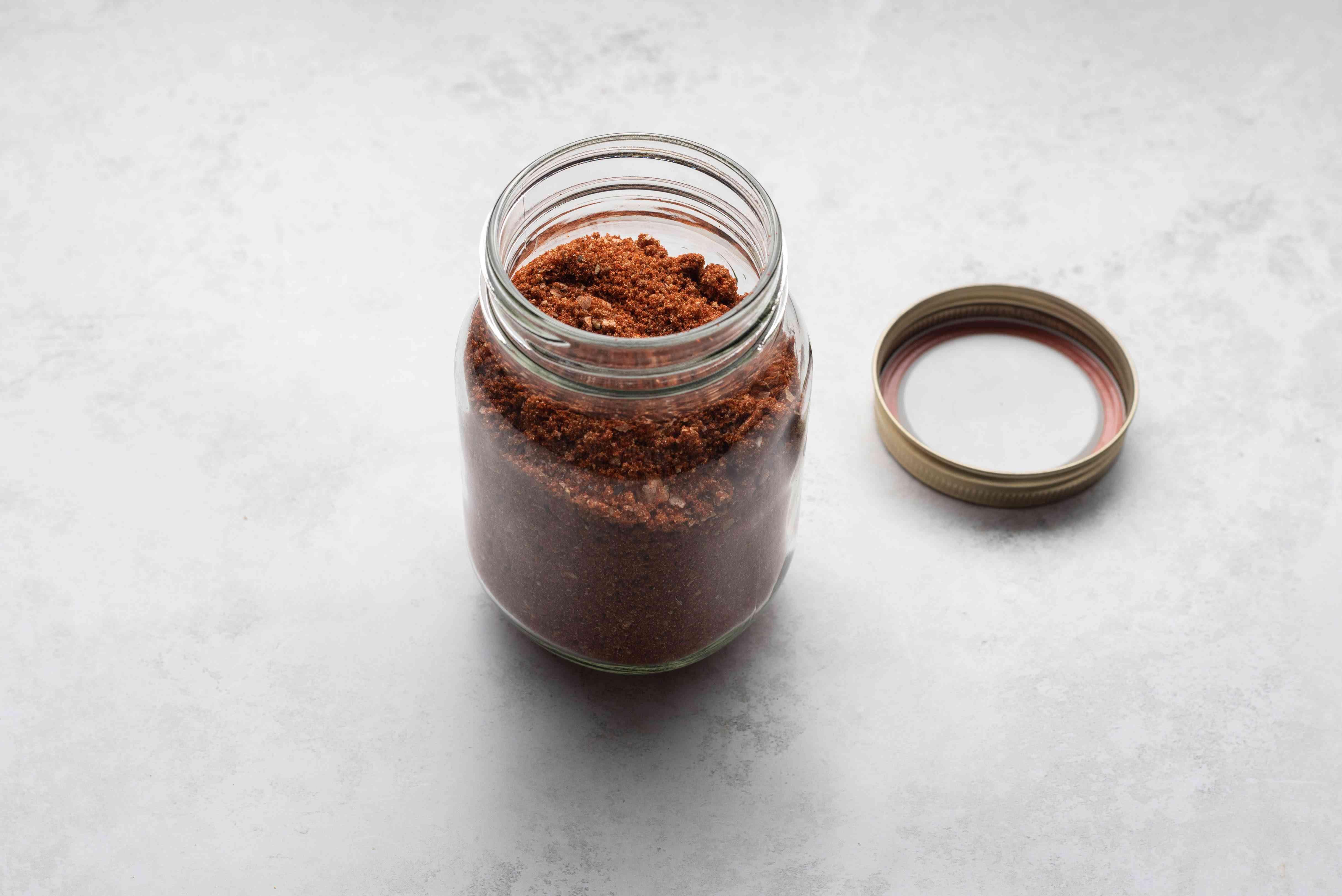 Sparerib Dry Rub in a jar