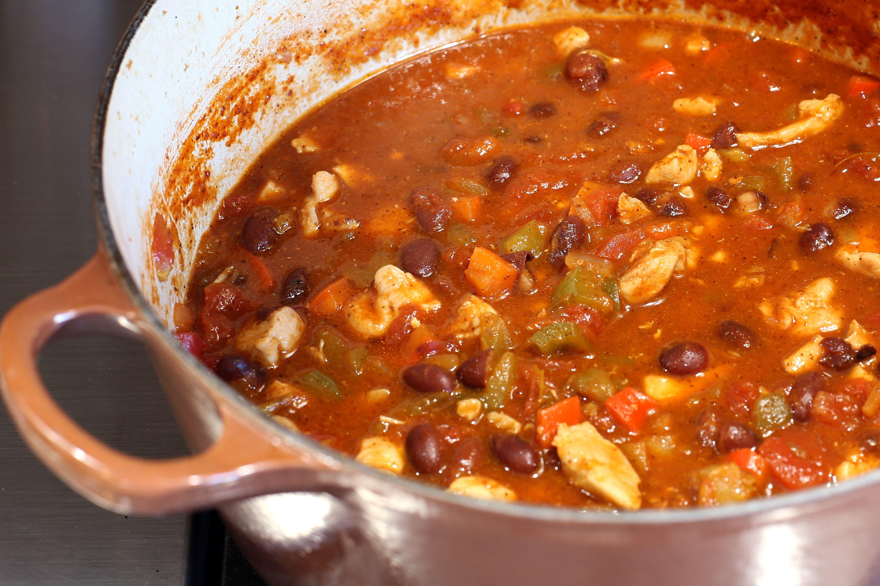 Chicken And Red Bean Chili Recipe