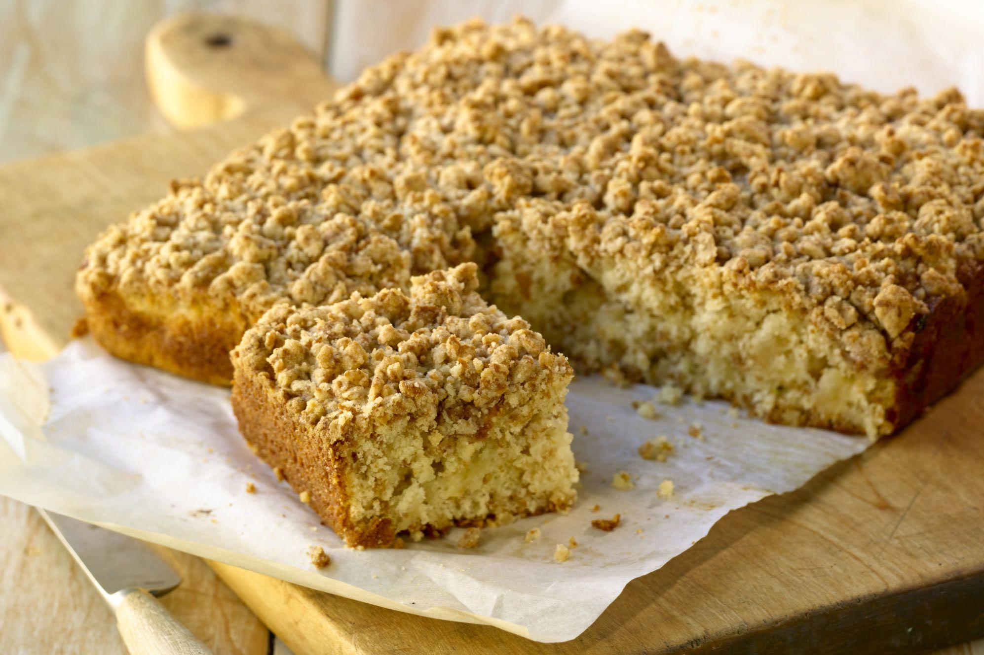 Easy Homemade Streusel Coffee Cake