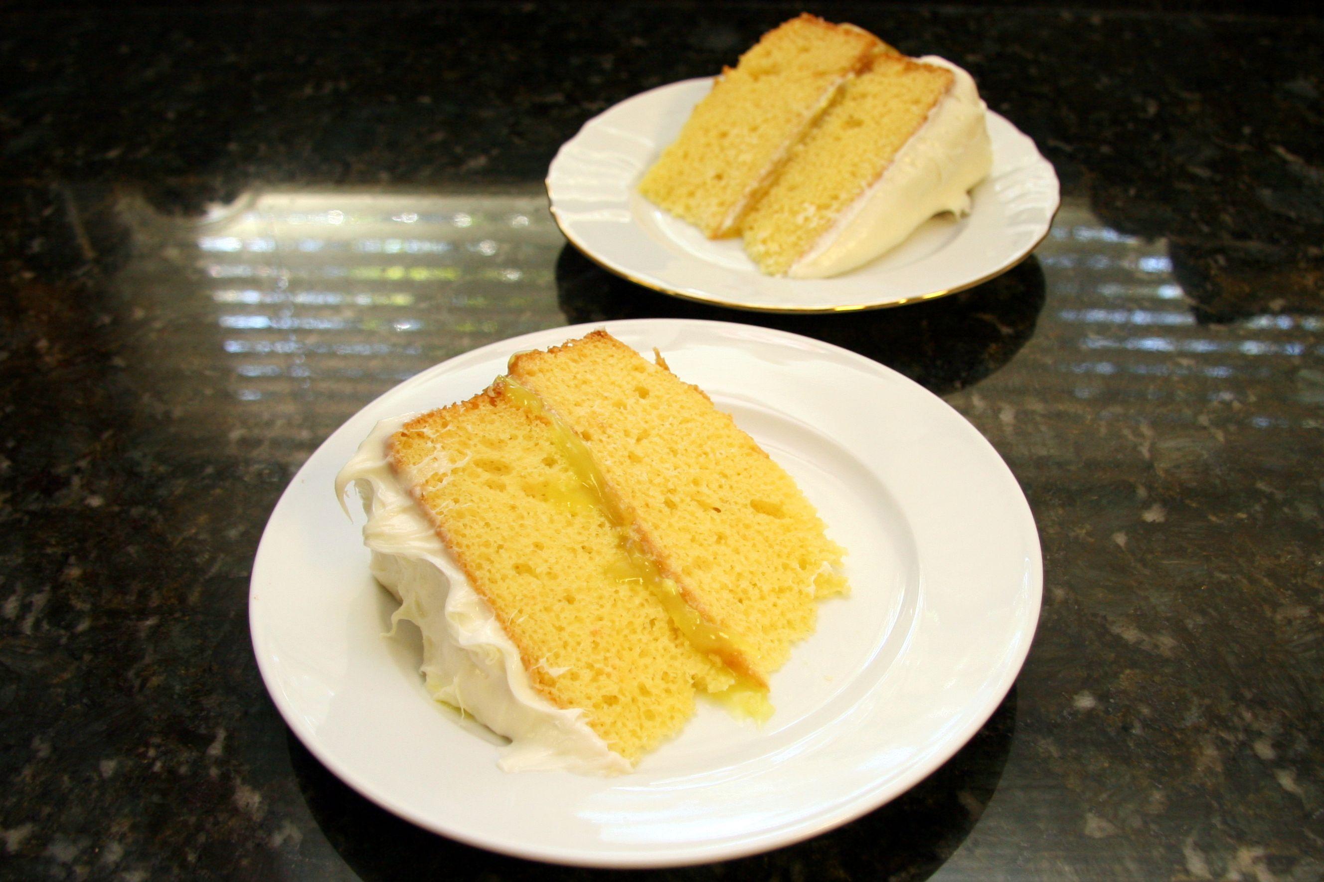 Easy Cake Mix Lemon Pie Cake
