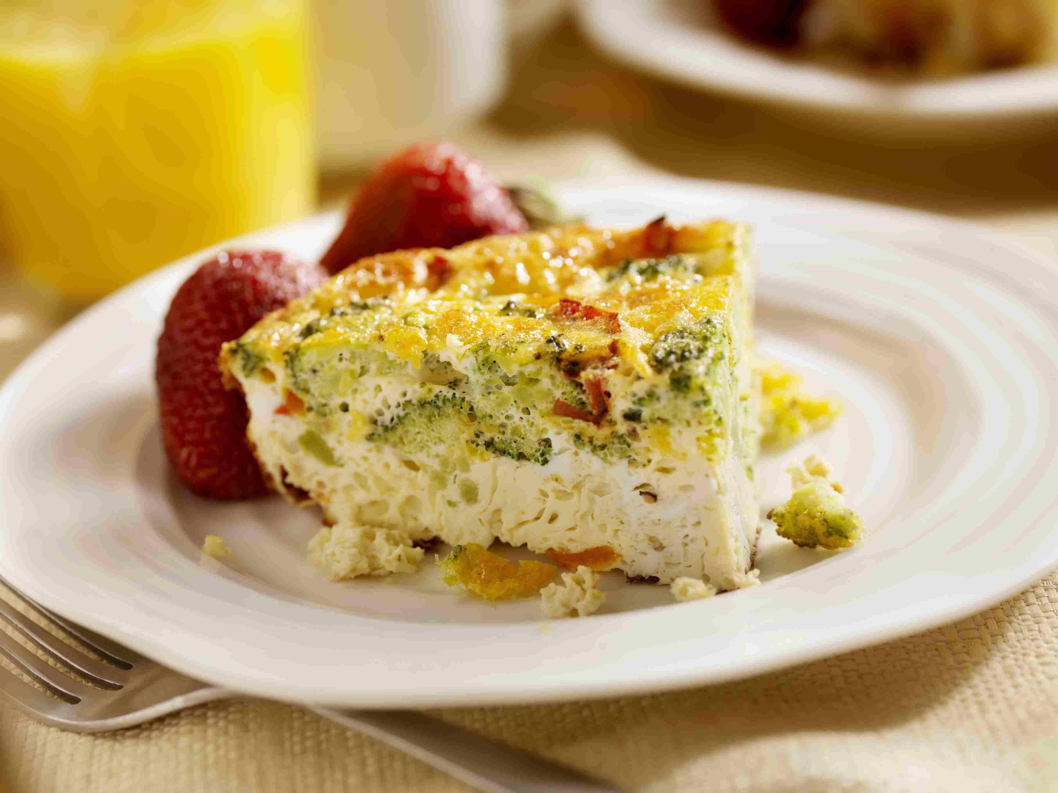 Broccoli and Cauliflower Frittata Recipe