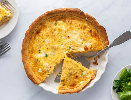 Crab Quiche With Cheese