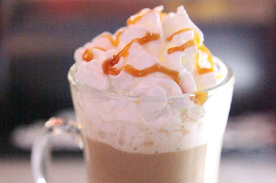 Haven Rooftop's Caramel Irish Coffee Cocktail