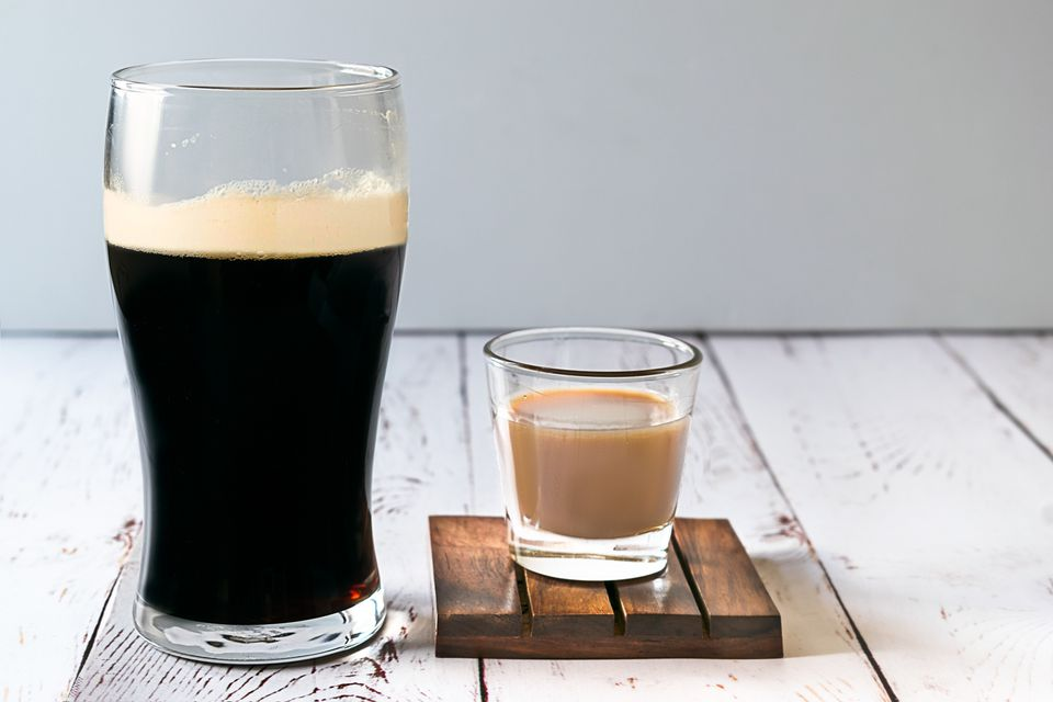 Irish Slammer (Irish Car Bomb) Shot