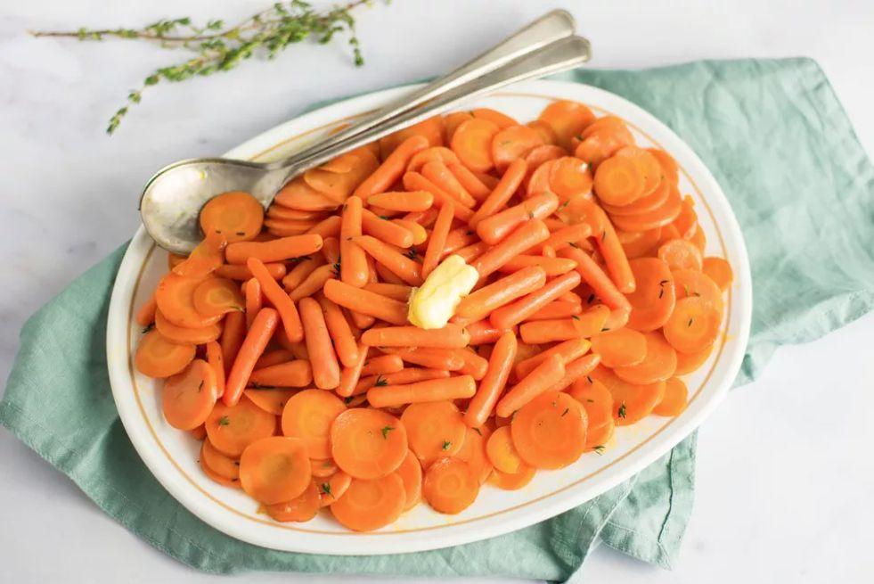 Vegan Caramelized Carrots