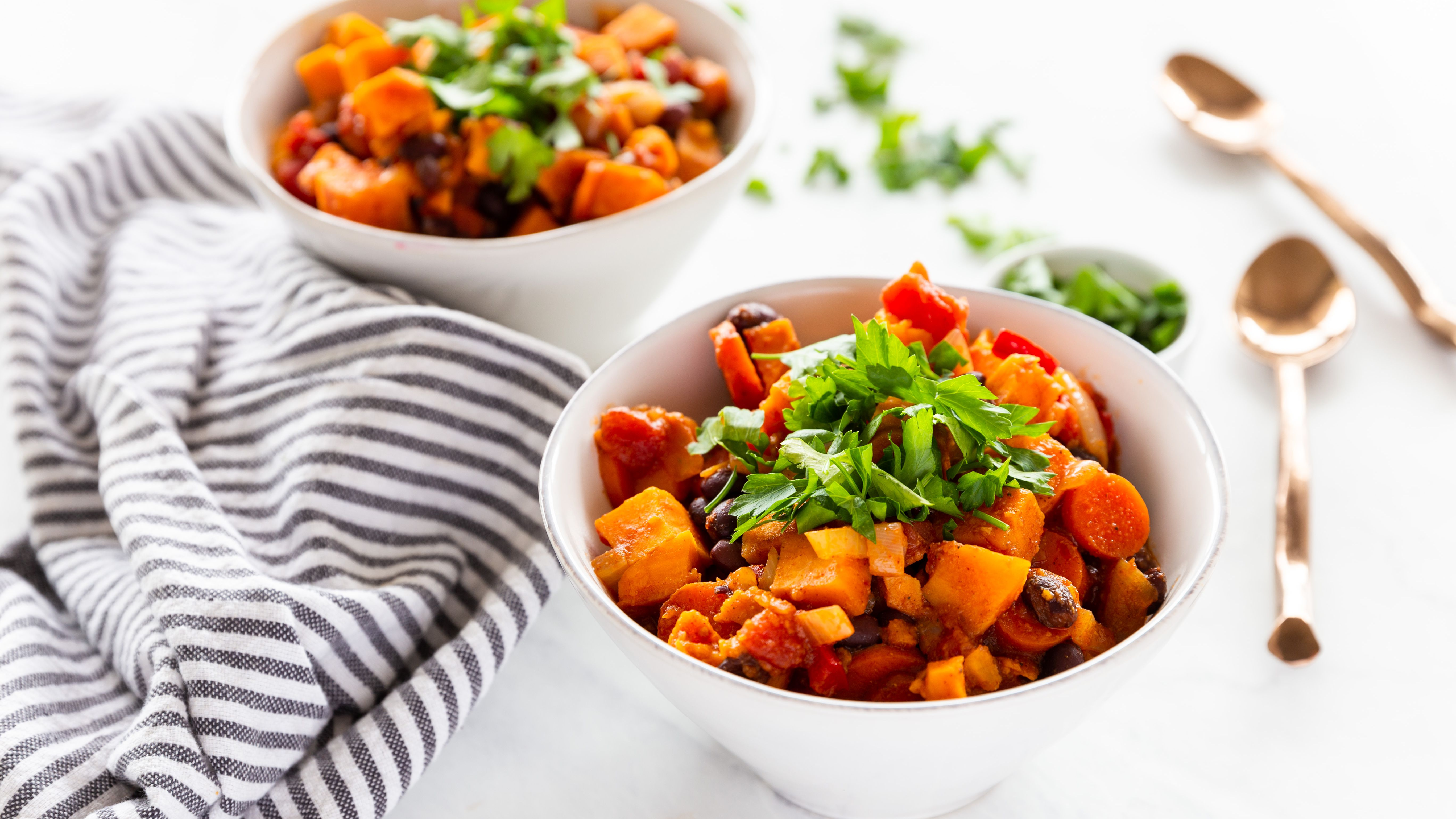 Black Bean And Sweet Potato Chili Recipe