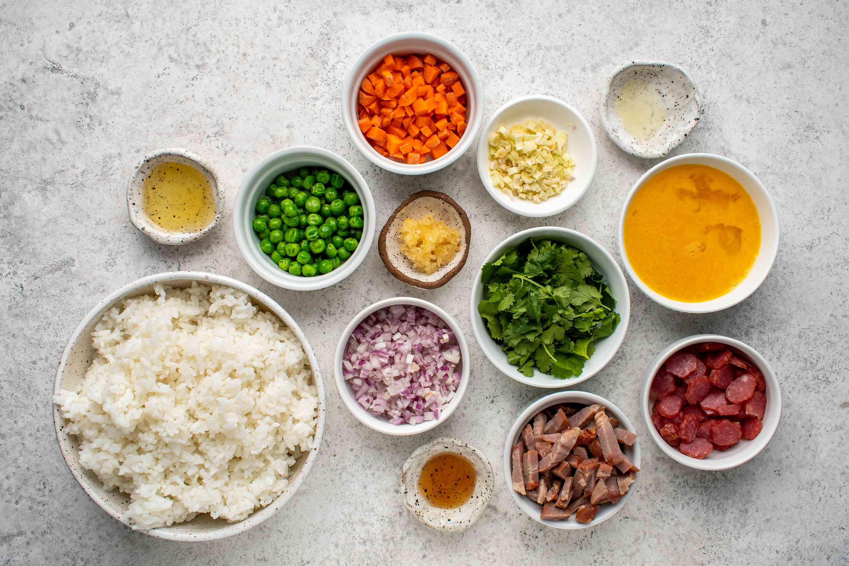 Vietnamese-Style Fried Rice ingredients