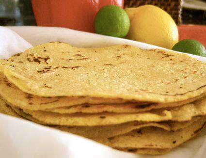 Homemade Gluten Free Tortilla Recipe