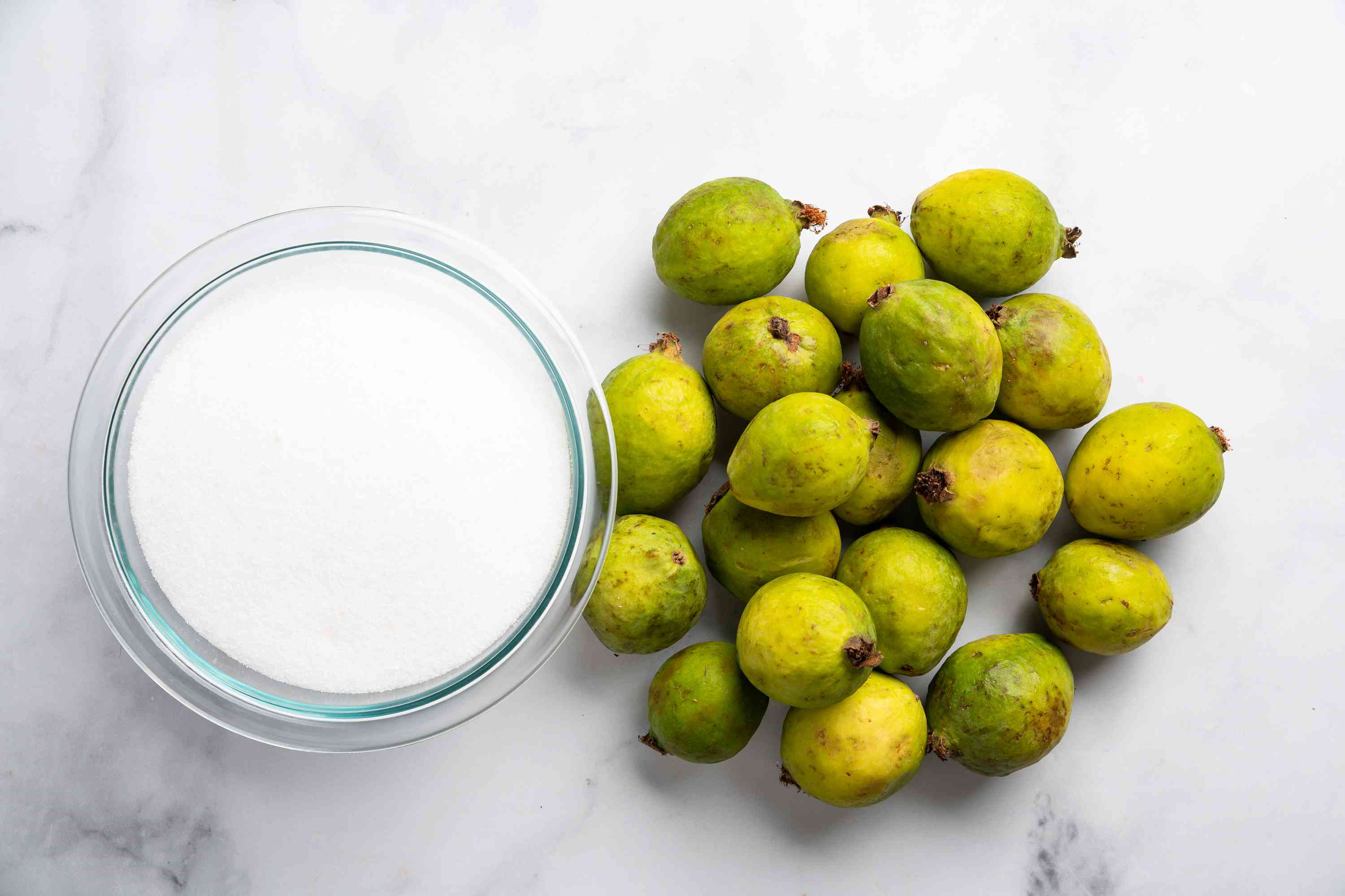 Indian Guava Cheese ingredients