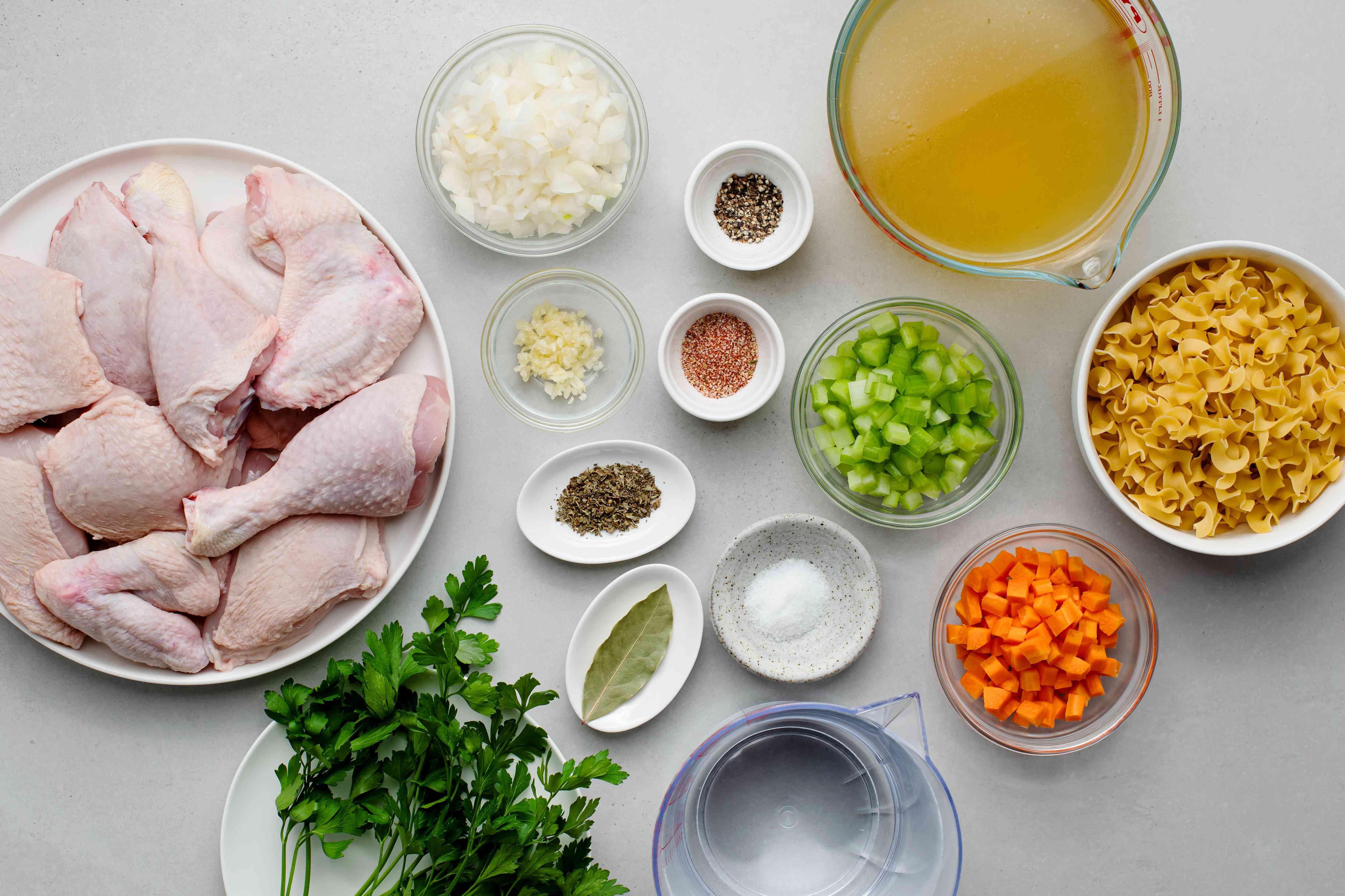 Crock Pot Chicken Noodle Soup ingredients