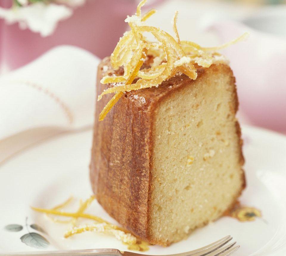 Easy Orange Liqueur Cake