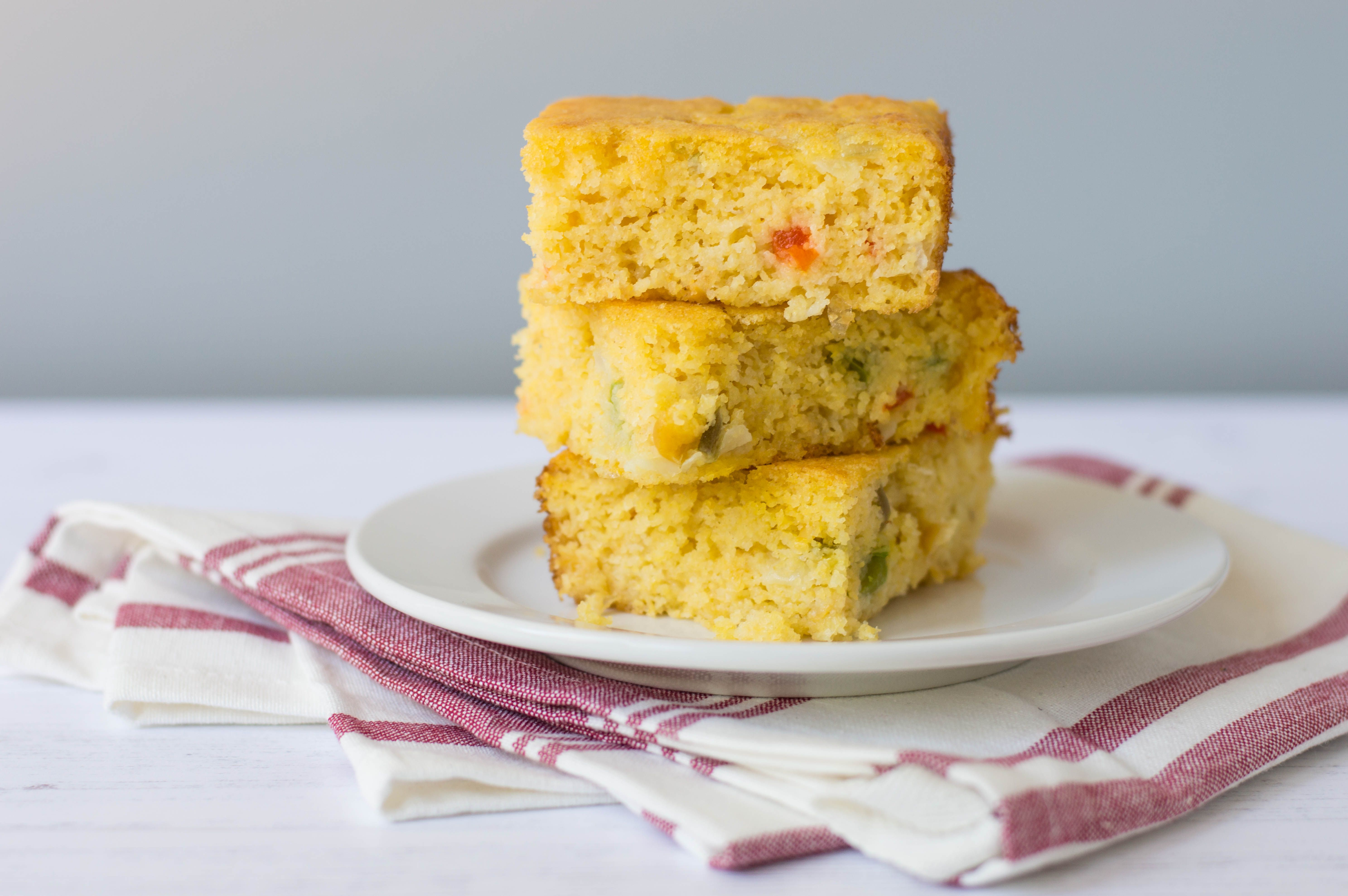 Moist Mexican Cornbread With Cream-Style Corn and Peppers
