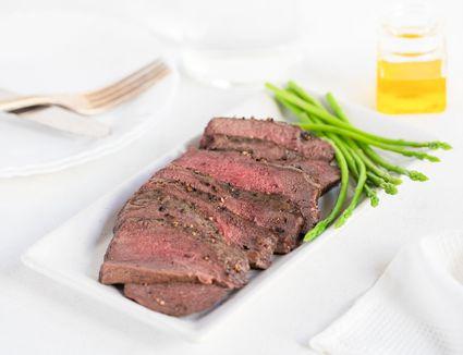 Basic Broiled Round Steak