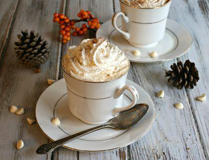 White chocolate mocha latte