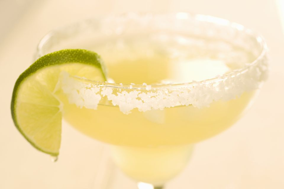 Golden Margarita Tequila Cocktail Recipe