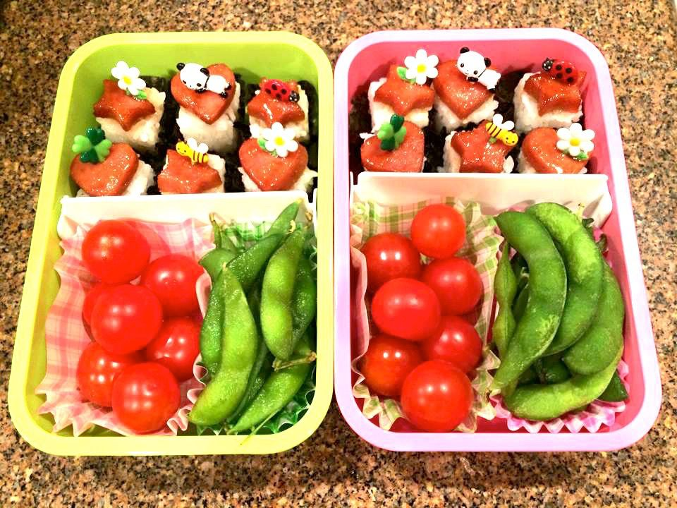 Bento Lunch with Vegetables