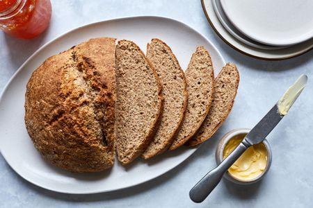 Irish Wheaten Bread Brown Soda Bread Recipe