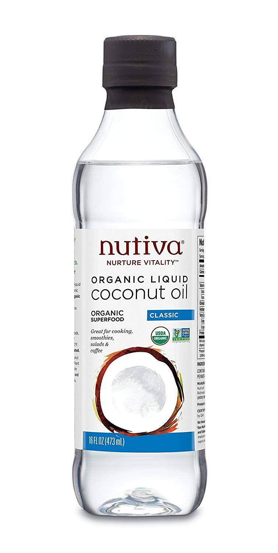 Nutiva Organic Unrefined Liquid Coconut Oil