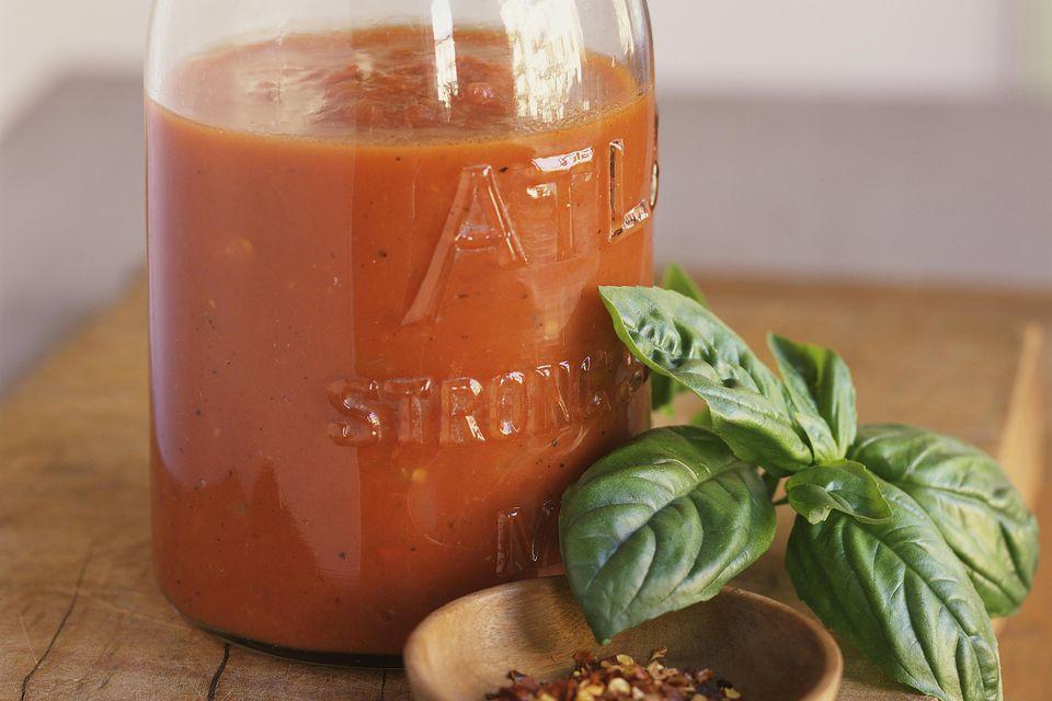 Red Bell Pepper Marinara Sauce
