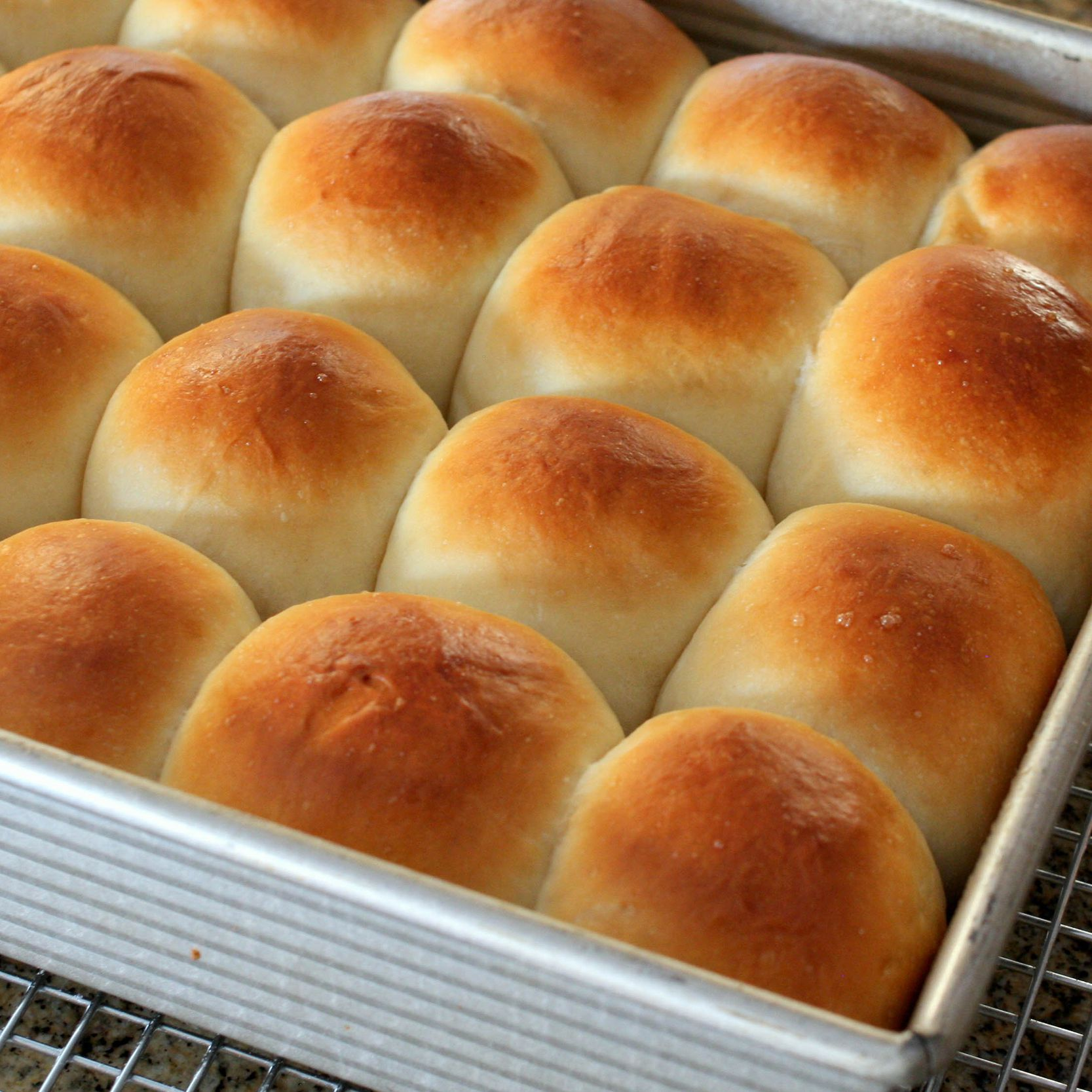 Southern Style Butter Yeast Rolls Recipe
